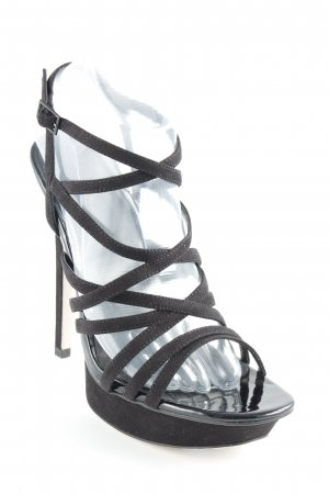 Asos High Heel Sandaletten schwarz Party-Look
