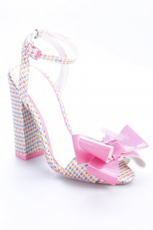 Asos High Heels abstraktes Muster extravaganter Stil