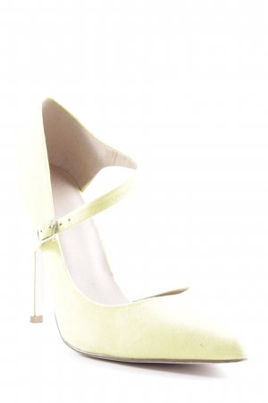 Asos High Heels limettengelb Party-Look