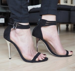 Asos High Heels Metall Absatz Gr. 36