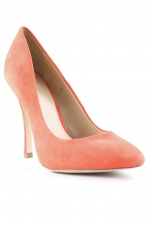 Asos High Heels neonorange-orange Business-Look