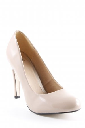 Asos High Heels roségoldfarben Elegant