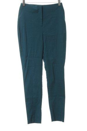 Asos Pantalon taille haute bleu pétrole style décontracté