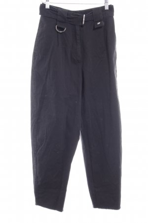 Asos High Waist Trousers black '80s style