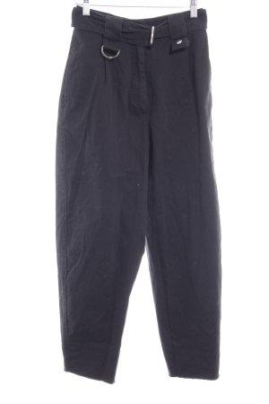 Asos Pantalon taille haute noir style des années 80