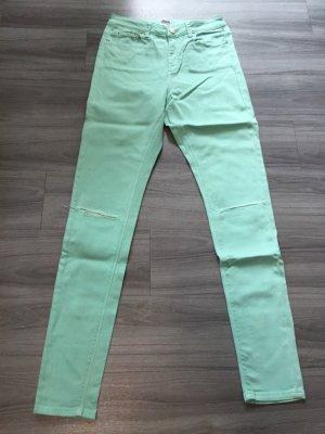 Asos Denim Hoge taille jeans turkoois
