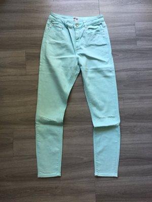 ASOS High-Waist Jeans hellblau Skinny W28/32 Größe 36