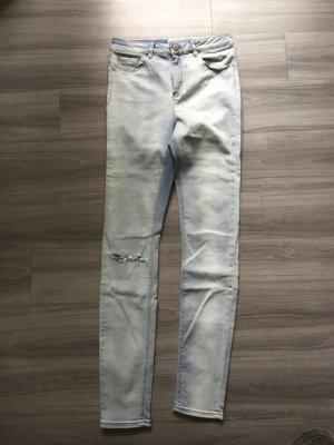 Asos Denim Hoge taille jeans azuur