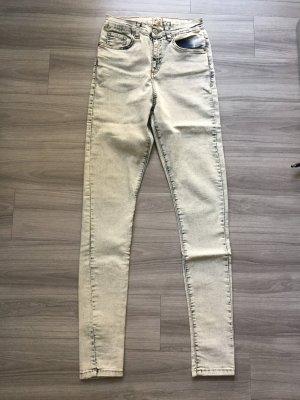 ASOS High-Waist Jeans verwaschene Skinny Jeans W28/32 Größe 36