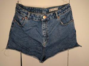Asos High Waist Jeansshorts