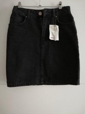 Asos High Waist Rock Schwarz Jeans