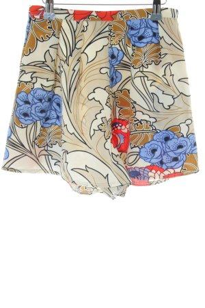 Asos High-Waist-Shorts Blumenmuster Hippie-Look