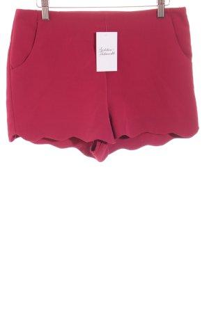 Asos High-Waist-Shorts purpur klassischer Stil