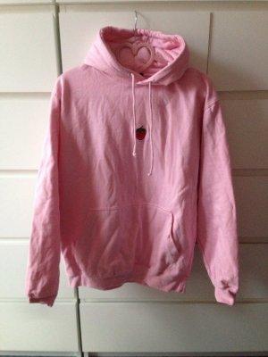 Asos hoodie rosa wie neu