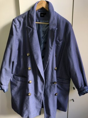 Asos Giacca di pelliccia blu fiordaliso