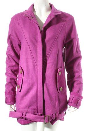 Asos Jacke violett minimalistischer Stil