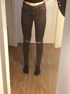 Asos Skinny jeans bordeaux