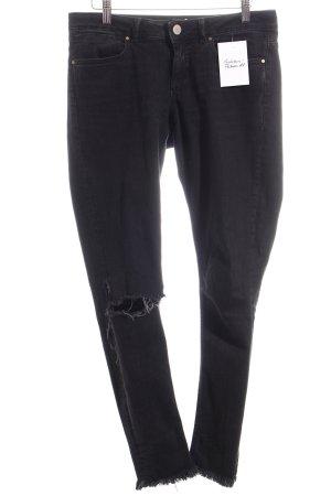Asos Jeans schwarz Casual-Look
