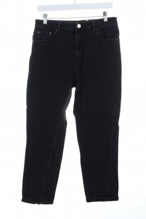 Asos Jeans schwarz Used-Optik