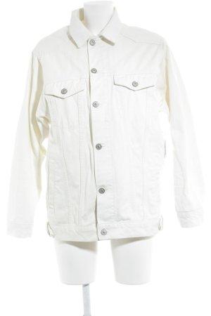 Asos Denim Jacket pale yellow street-fashion look