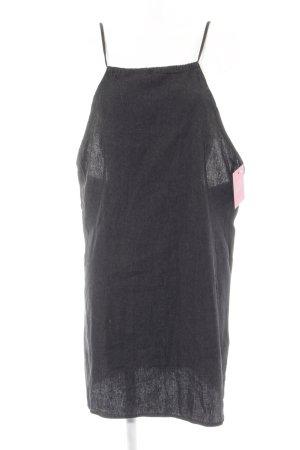 Asos Jeansjurk zwart-antraciet casual uitstraling