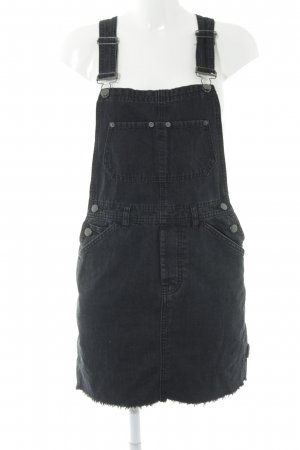 Asos Jeansjurk zwart casual uitstraling