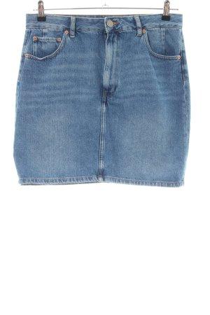Asos Denim Skirt blue casual look