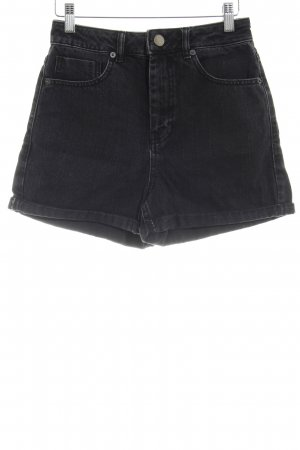 Asos Jeansshorts anthrazit Casual-Look