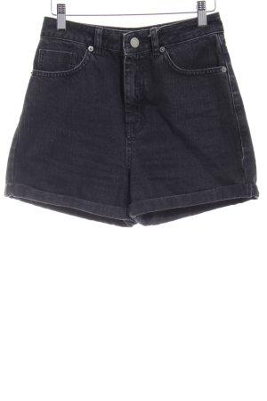 Asos Short en jean gris anthracite style simple