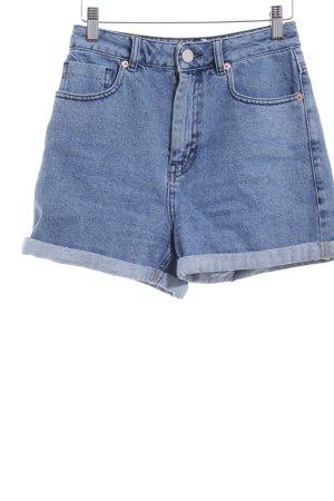 Asos Short en jean bleu acier style décontracté