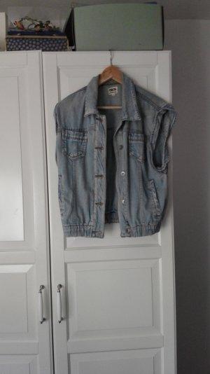 ASOS jeansweste denim jacke größe 40