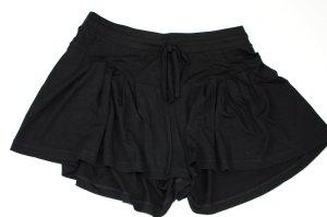 ASOS Jersey Rock Shorts Skort Hotpants, ungetragen, schwarz, Gr. S