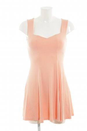 Asos Jerseykleid apricot Casual-Look