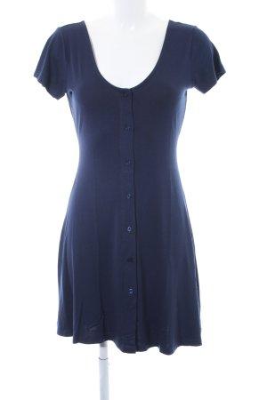 Asos Jerseykleid dunkelblau Casual-Look