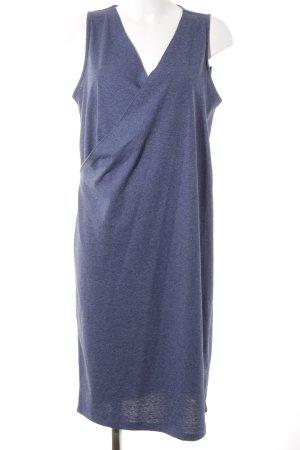 Asos Jerseykleid kornblumenblau meliert Casual-Look