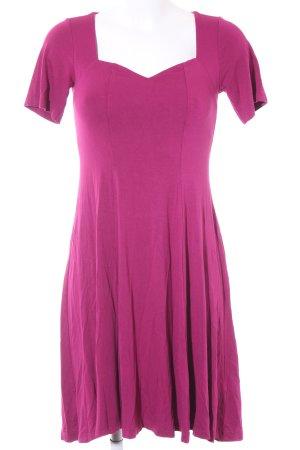Asos Jerseykleid purpur Casual-Look
