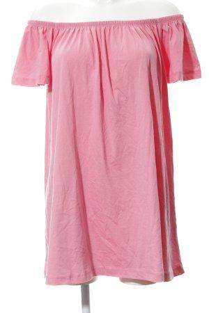 Asos Jerseykleid rosa Casual-Look