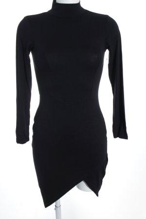 Asos Jerseykleid schwarz schlichter Stil