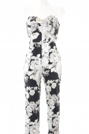 Asos Jumpsuit Blumenmuster Street-Fashion-Look