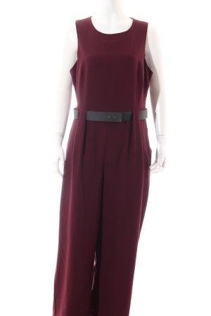 Asos Jumpsuit purpur Street-Fashion-Look