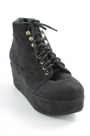 Asos Wedge Booties black casual look