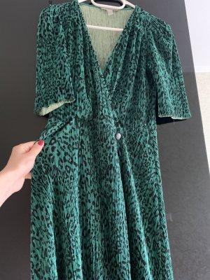 Asos Petite Midi Dress forest green