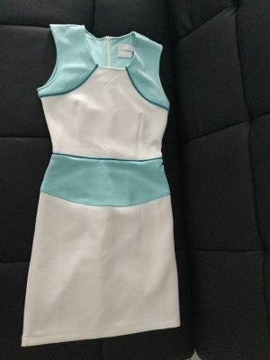 Asos Petite Vestido blanco-azul claro