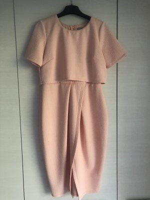 Asos Empire Dress pink-apricot