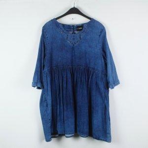 Asos Kleid Gr. 36 blau oversized Jeans-Look (19/02/369)