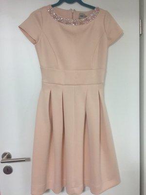 ASOS Kleid in Midilänge rosa Glitzersteine Gr.36!