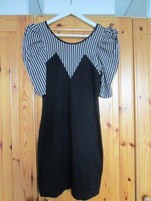 Asos Kleid Jersey schwarz & beige Größe S