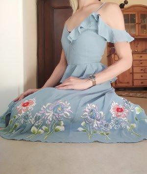 Asos Tall Robe mi-longue bleu azur