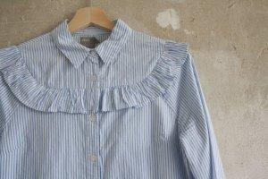 Asos Kleid mit Streifen und Rüschen