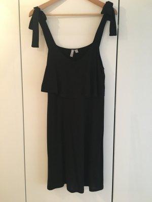 Asos Robe courte noir viscose